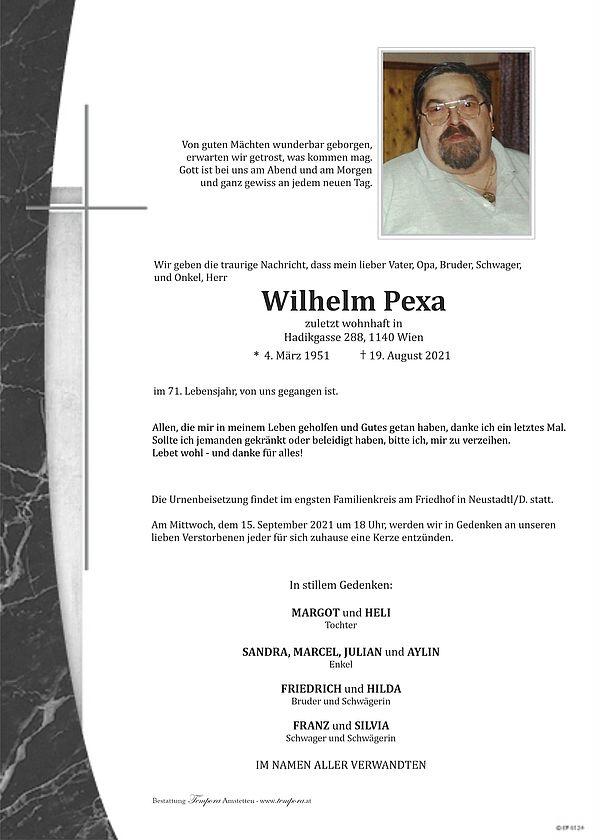 Parte von Wilhelm Pexa