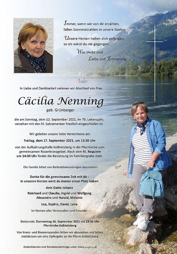 Parte von Cäcilia Nenning