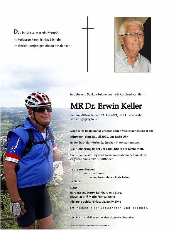 Parte von MR Dr. Erwin Keller