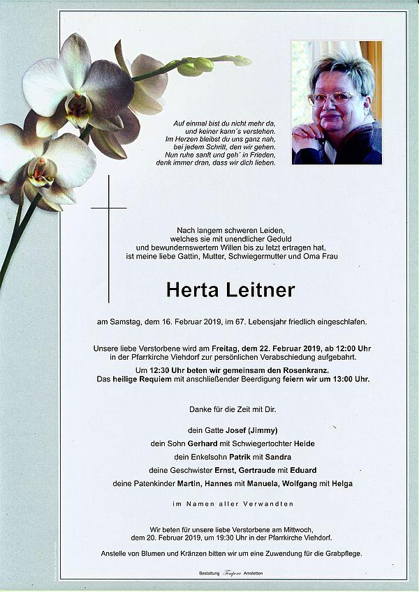 Parte von Herta Leitner