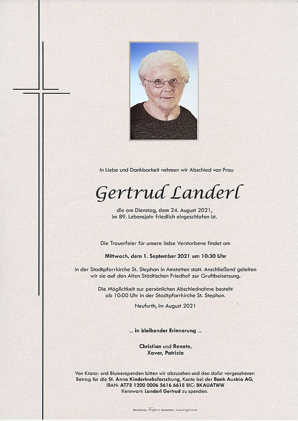 Parte von Gertrud Landerl