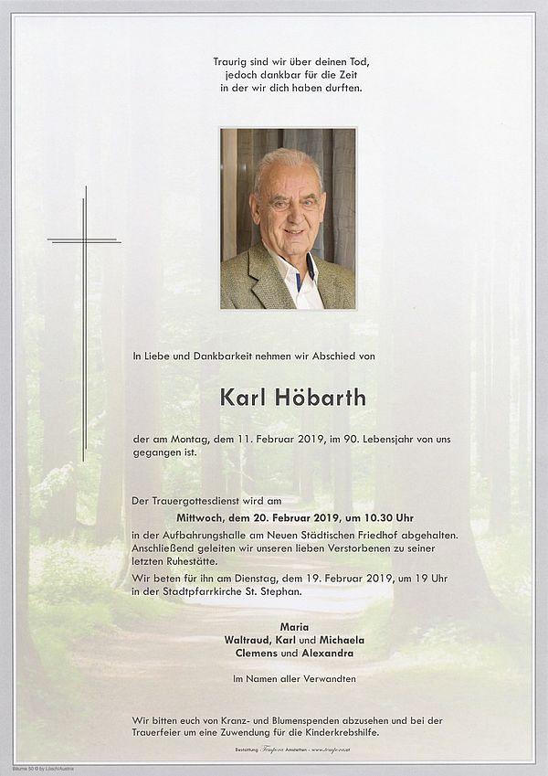 Parte von Karl Höbarth