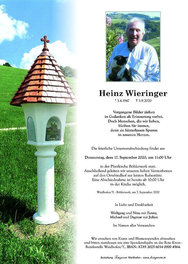 Parte von Heinz Wieringer