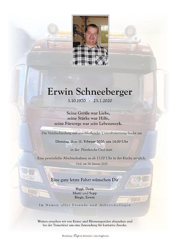 Parte von Erwin Schneeberger