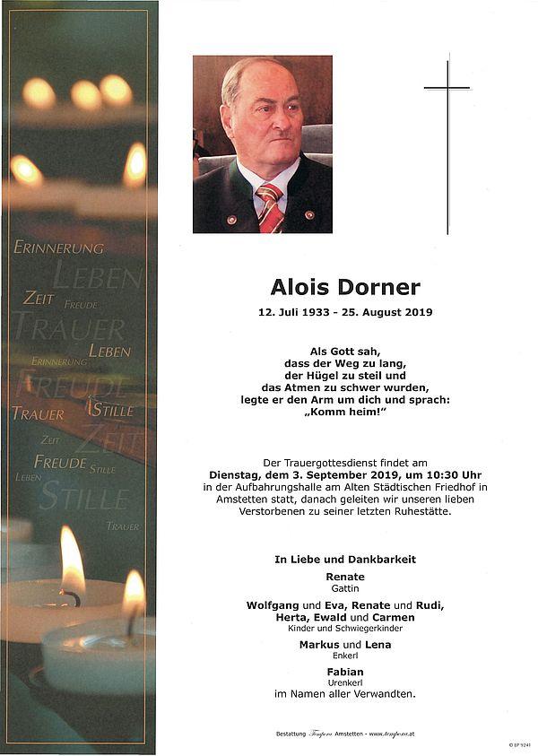 Parte von Alois Dorner