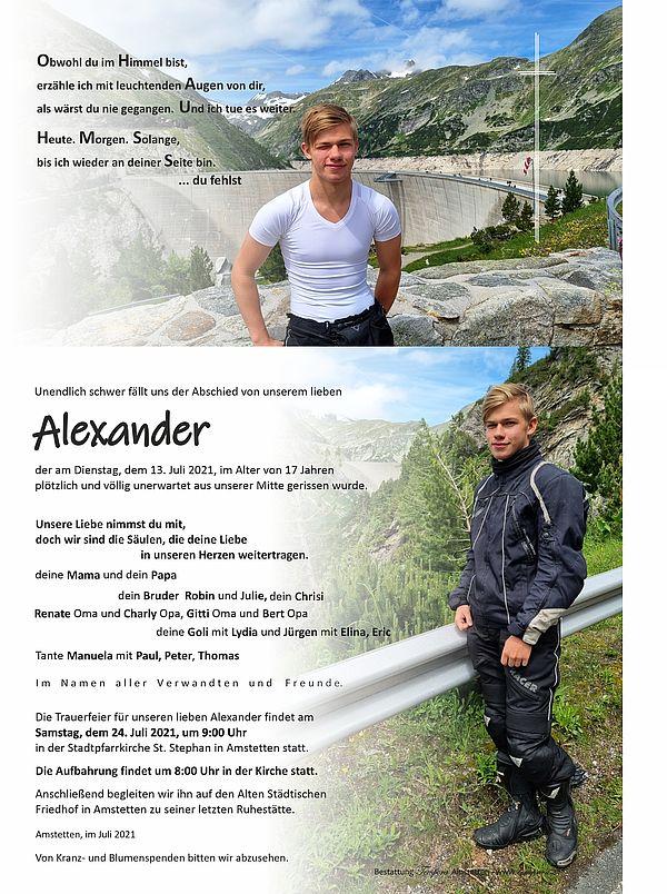 Parte von Alexander Stadlauer