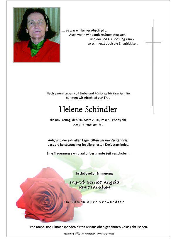 Parte von Helene Schindler