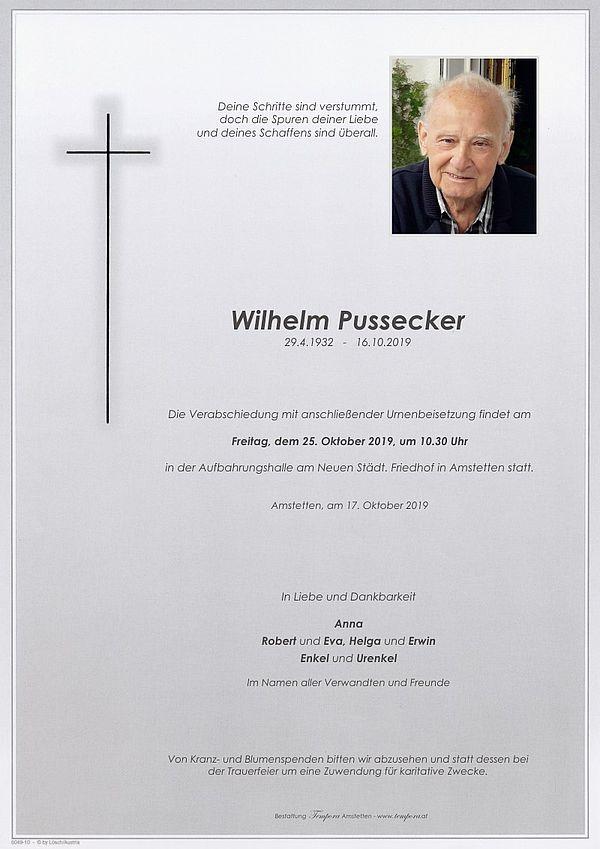 Parte von Wilhelm Pussecker