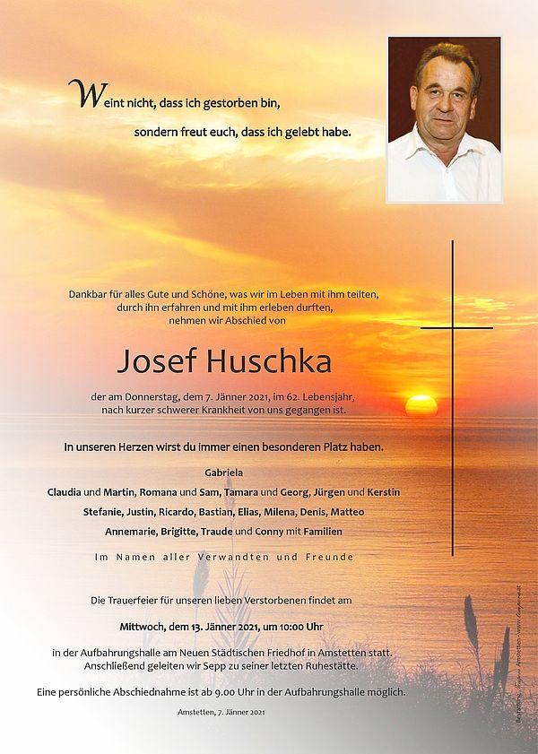 Parte von Josef Huschka
