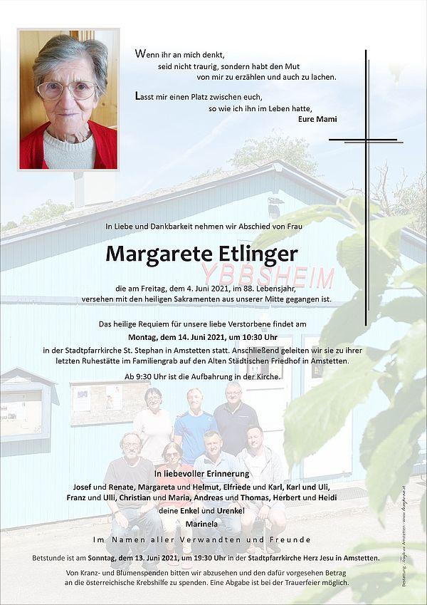Parte von Margarete Etlinger