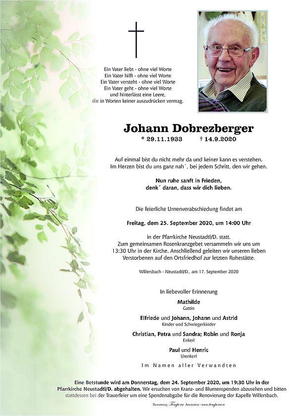 Parte von Johann Dobrezberger