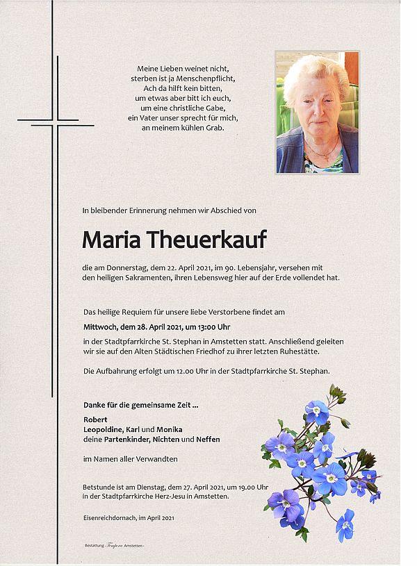 Parte von Maria Theuerkauf