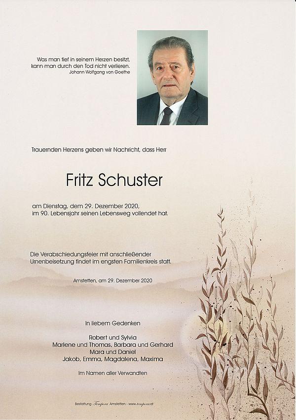 Parte von Fritz Schuster