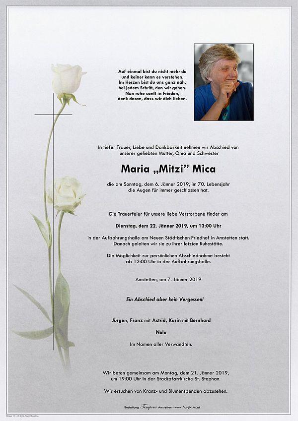 Parte von Maria Mica