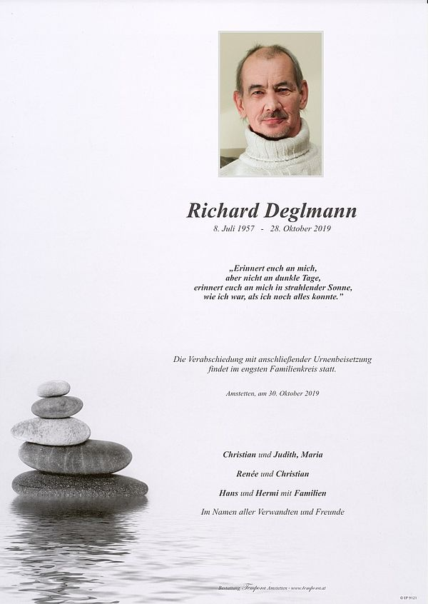 Parte von Richard Deglmann