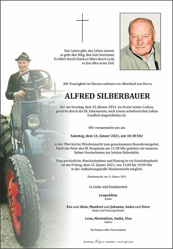 Parte von Alfred Silberbauer