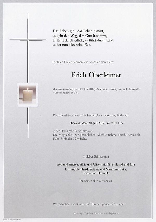 Parte von Erich Oberleitner