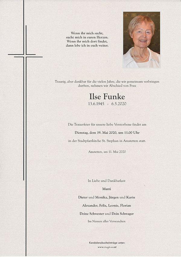 Parte von Ilse Funke