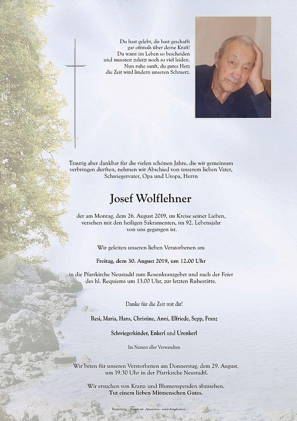 Parte von Josef Wolflehner