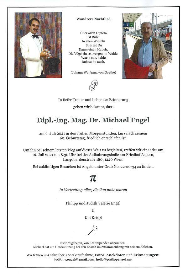 Parte von DI. Mag. Dr. Michael Engel