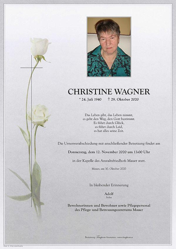 Parte von Christine Wagner
