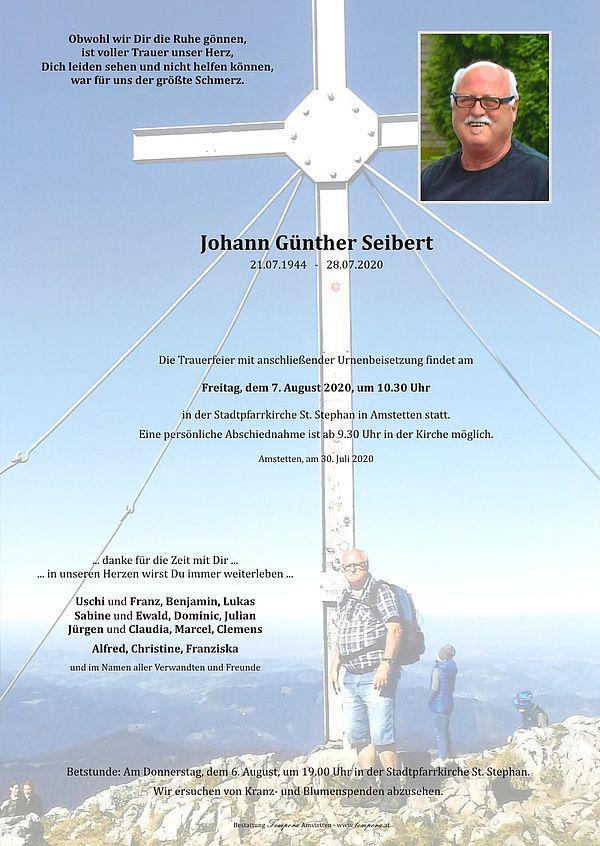 Parte von Johann Günther Seibert