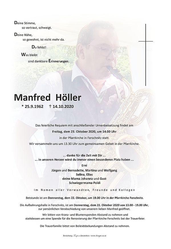 Parte von Manfred Höller
