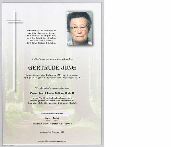 Parte von Gertrude Jung