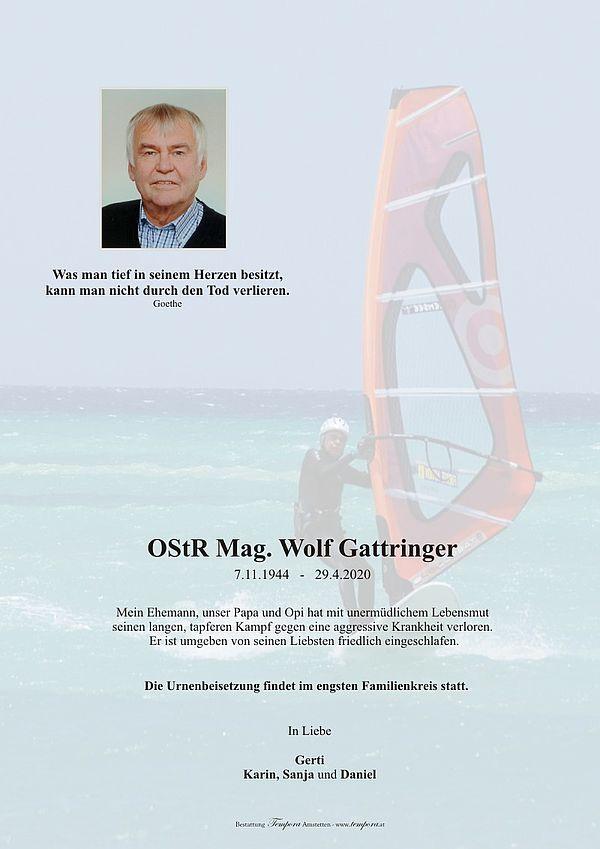 Parte von OStR Mag. Wolf Gattringer