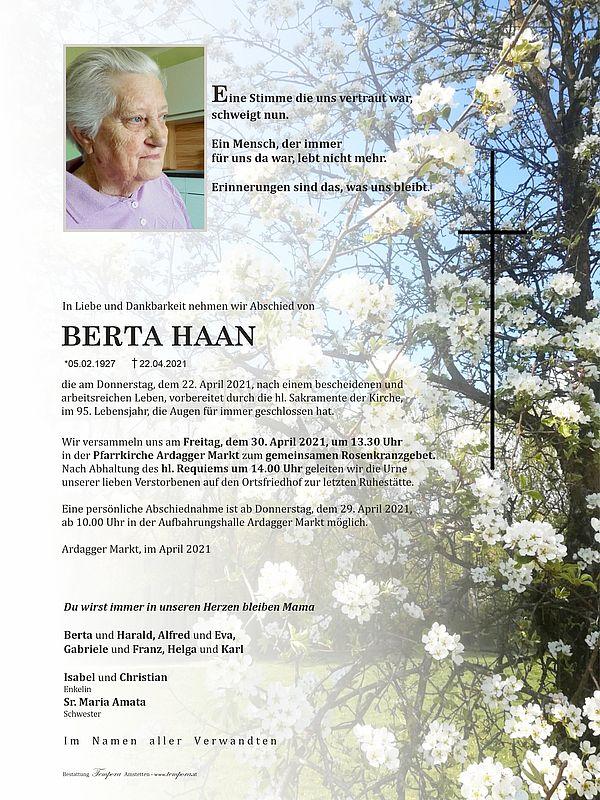 Parte von Berta Haan