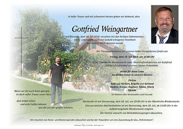 Parte von Gottfried Weingartner