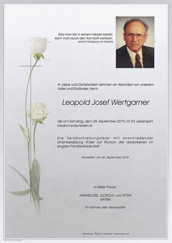 Parte von Leopold Josef Wertgarner