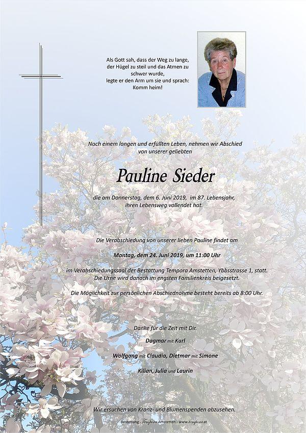 Parte von Pauline Sieder