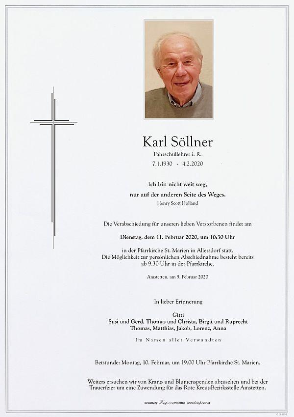 Parte von Karl Söllner