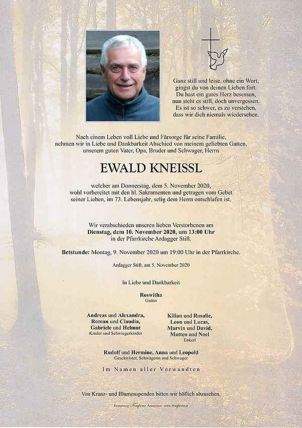 Parte von Ewald Kneissl