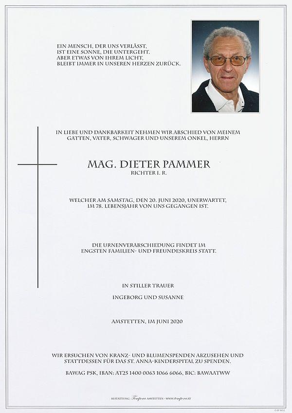 Parte von Mag. Dieter Pammer