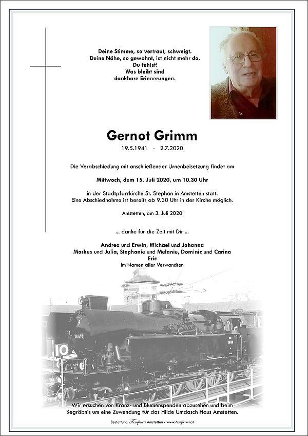 Parte von Gernot Grimm
