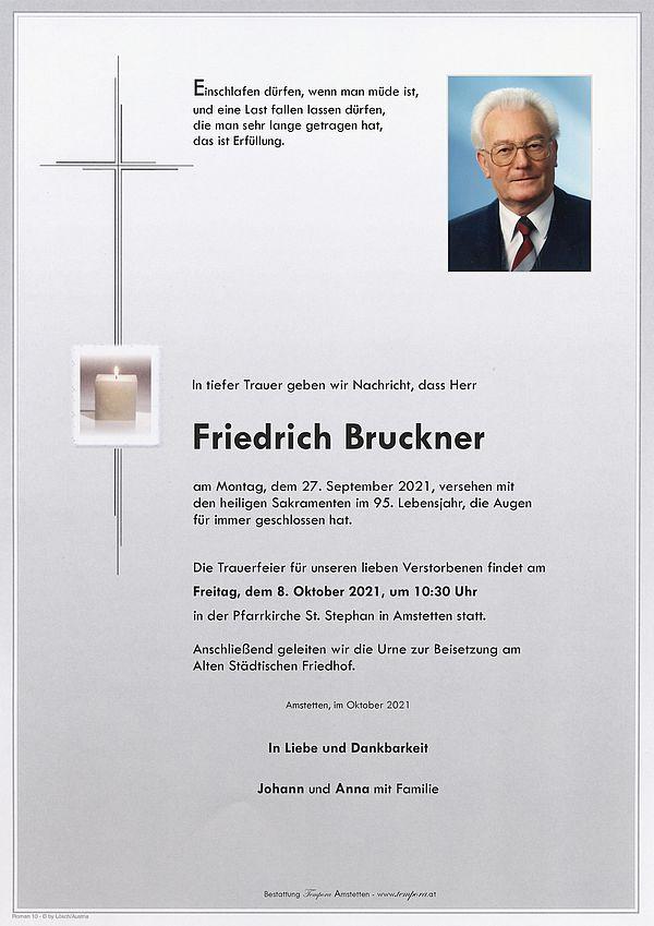 Parte von Friedrich Bruckner
