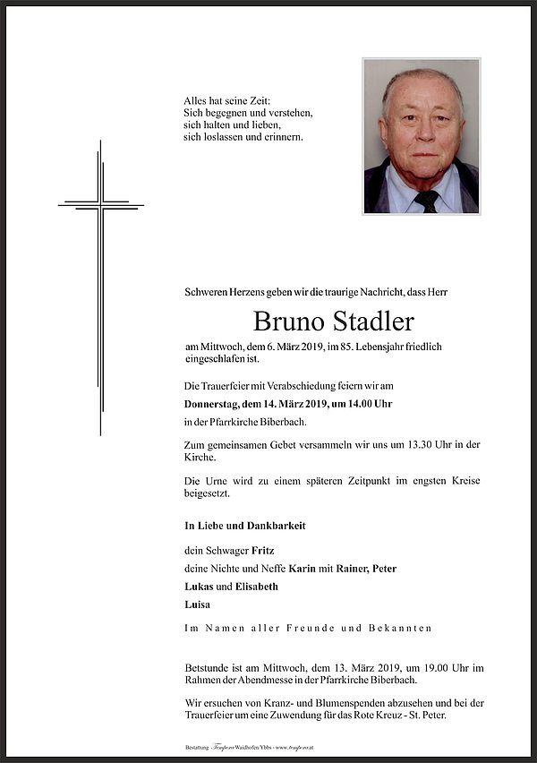 Parte von Bruno Stadler