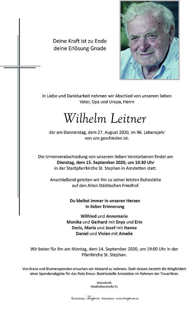 Parte von Wilhelm Leitner