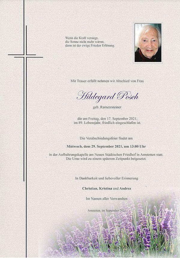 Parte von Hildegard Posch