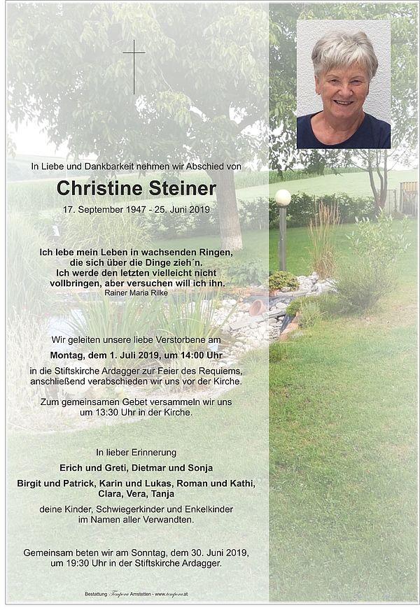 Parte von Christine Steiner