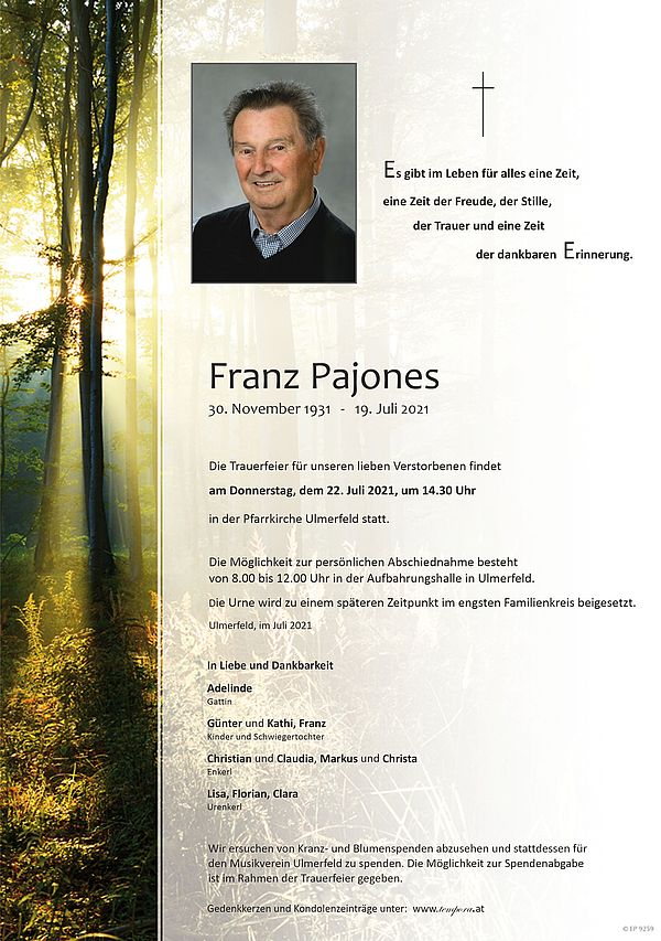 Parte von Franz Pajones