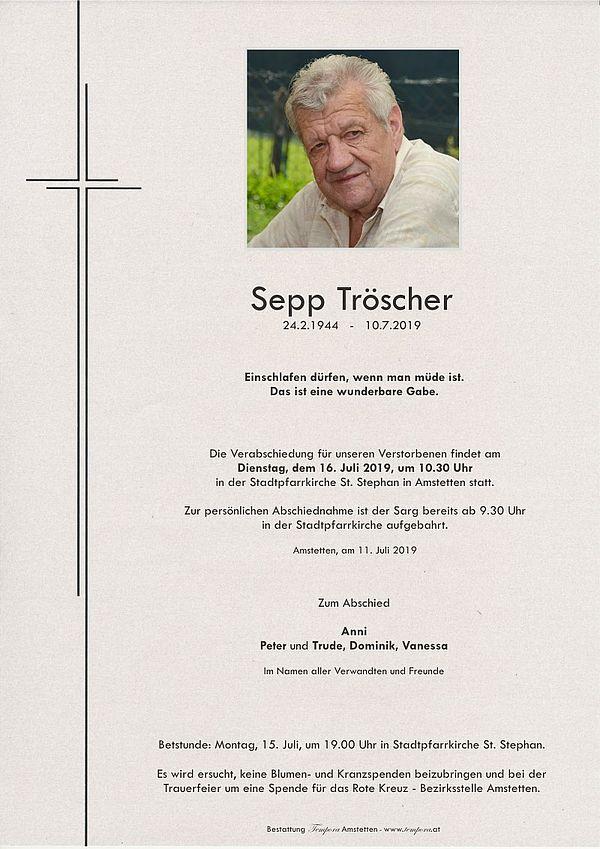 Parte von Sepp Tröscher