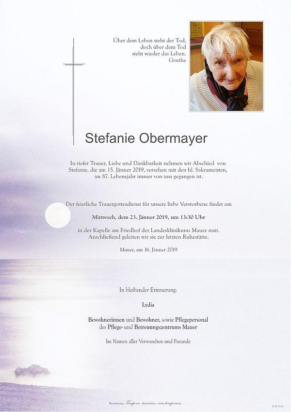 Parte von Stefanie Obermayer