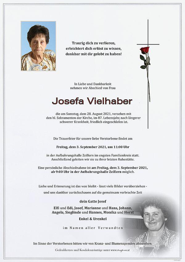 Parte von Josefa Vielhaber