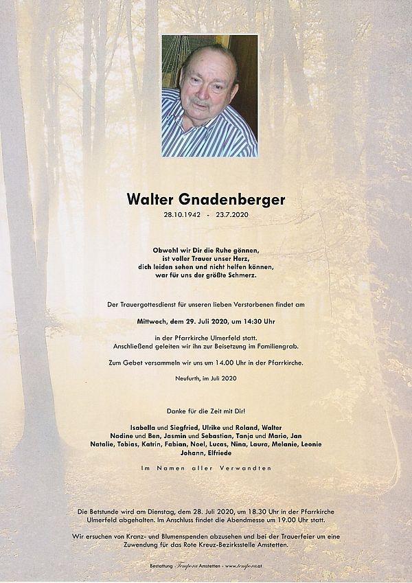 Parte von Walter Gnadenberger