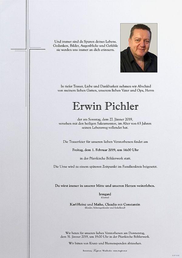 Parte von Erwin Pichler