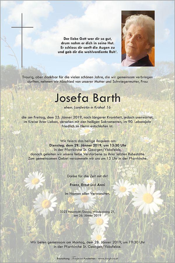 Parte von Josefa Barth