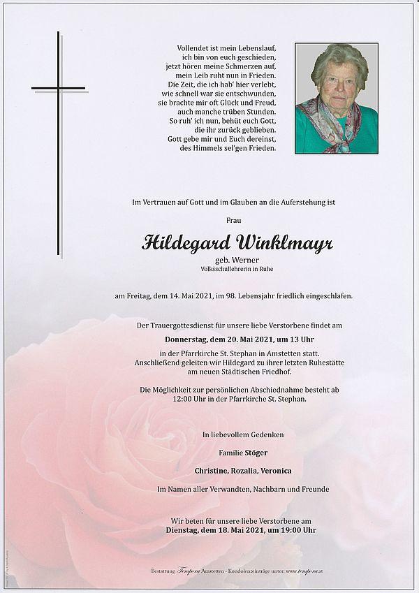 Parte von Hildegard Winklmayr